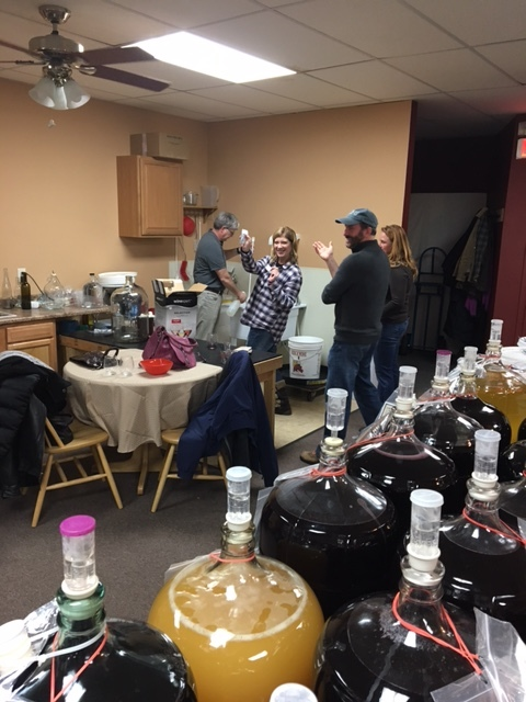 Wine Making event March 2017
